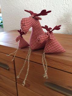 Deko-Objekte - Elche Kantenhocker - ein Designerstück von Geli1760 bei DaWanda