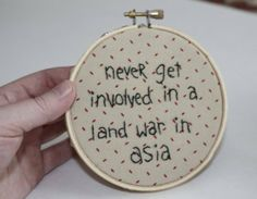 If you say so, Random Cross-stitch.