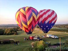 #Chaumette #winery #vineyard #balloonglow