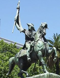 Buenos Aires-Plaza de Mayo-Estatua MANUEL BELGRANO