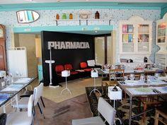 Eat, Pharmacia restaurant Lisbon, Portugal