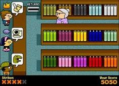 Lydia The Lightning Librarian - great free and online game to improve your short-term memory. Really recommended :)