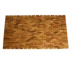 Jewels of Java Teak Rectangular Door Mat (Actual: x Mat Online, Lowes Home Improvements, Bath Rugs, Joss And Main, Teak Wood, Floor Mats, Animal Print Rug, Outdoor Gardens, Decorative Pillows