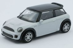 1:64 scale BMW Mini Cooper S JCW (Black/White) – by RMZ Bmw Models, Mini Cooper S, Scale, Black And White, Vehicles, Weighing Scale, Black White, Blanco Y Negro, Black N White