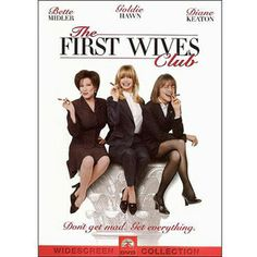 The First Wives Club - Directed by Hugh Wilson. With Goldie Hawn, Bette Midler, Diane Keaton, Maggie Smith. Reunited by the death of a college friend, three divorced women seek revenge on the husbands who left them for younger women. Diane Keaton, Chick Flicks, Old Movies, Great Movies, Girly Movies, Iconic Movies, Vintage Movies, See Movie, Movie Tv