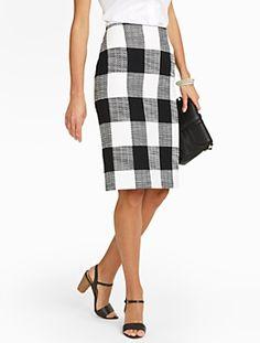 4715f1d500 Talbots - Bold Plaid Pencil Skirt | New Arrivals | Petites Plaid Pencil  Skirt, Pencil