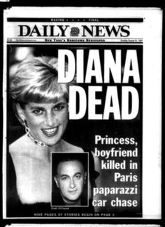 It's been 17 years since the life of Princess Diana ended in tragedy. On Aug. 31, 1997, the People's Princess died in a car accident while speeding away from paparazzi in Paris with boyfriend Dodi Fayed. Take a look back at the headlines that shook the world following her death ...