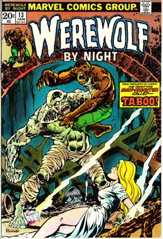 Werewolf by Night 1972 1st Series 13 January 1974 by ViewObscura