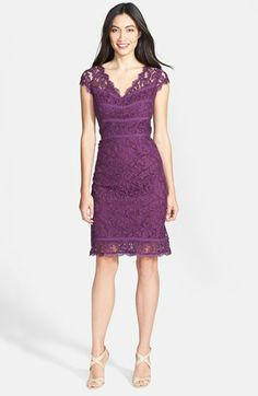 Adrianna Papell Lace Sheath Dress available at Lace Sheath Dress, Dresses For Work, Formal Dresses, Groom Dress, Lace Overlay, Nordstrom Dresses, Mother Of The Bride, Adrianna Papell, Woman Fashion