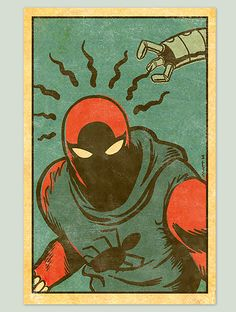 Scarlet Spider classic comics estetics by ~MattKaufenberg on deviantART