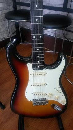 Fernandes 62 Stratocaster | 7.3jt