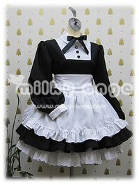 メイド服。cute!