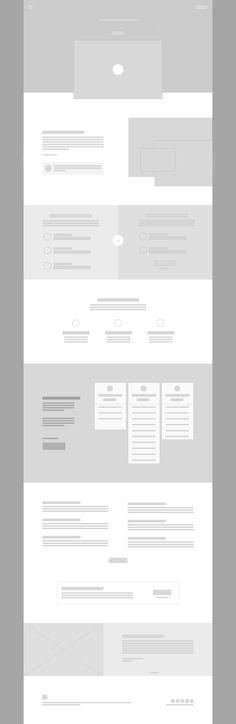 png by Corey Haggard Website Design Layout, Website Design Inspiration, Web Layout, Layout Design, Ui Design, Wireframe Design, Desktop Design, Identity, Instructional Design