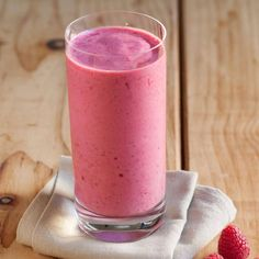 This easy fruit smoothie with yogurt recipe calls for just three ingredients--yogurt, fruit juice and whatever frozen fruit you have on hand. Mix up your combinations from day to day for a healthy breakfast or snack you'll never get bored with.