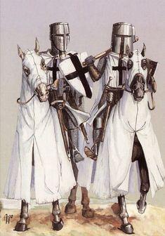 Воины средневековья - Рыцари