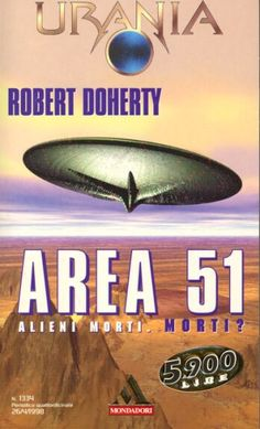 1334  AREA 51 26/4/1998  AREA 51 (1997)  Copertina di  Massimo Rosestolato   ROBERT DOHERTY