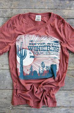 05f97699 WONDERING & WANDERING TEE - Junk GYpSy co. Cute Shirts, My Outfit, Gypsy