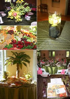 pinterest wedding tropical | tropical wedding.... Like the palm tree