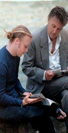 Sir Paul with son James