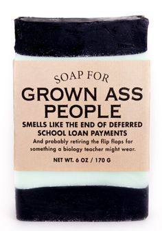 Soap for Grown Ass People - NEW