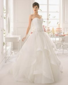Aire Barcelona Bridal Gown Style - 8C173 ANALIA
