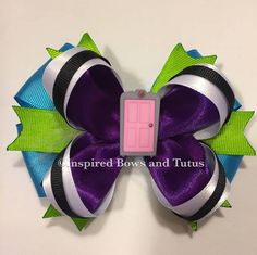 A personal favorite from my Etsy shop https://www.etsy.com/listing/232530484/monster-inc-boo-door-inspired-hair-bow
