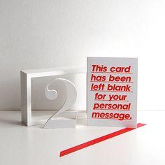 Left Blank Card — Polar