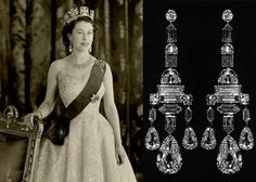 Happy Birthday, Queen Elizabeth II: See Her Majesty's 12 Most Impressive Jewels Greville Chandelier Earrings