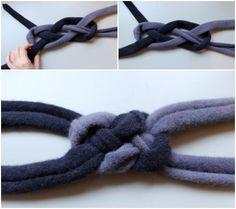 Easy DIY: Celtic Knot Wool Headbands For Mom & Baby!   Disney Baby