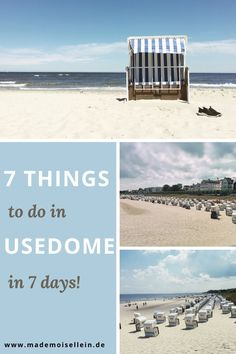 Read this article and learn all the things to do in Usedom and how you can spend a week-long beach holiday in Germany this summer. #Expat #Expatlife #Travel #Usedom #Germany #Eurotrip #Balticsea #BeachHoliday #TravelTips #Europe #Summer #SummerTrip #Holiday #TravelInspo #DayTrips