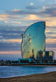 Hotel W de #Barcelona                                                       …