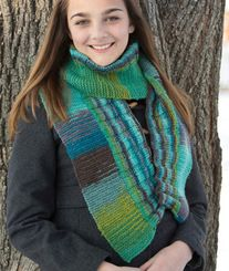 Classic Elite Two Direction Scarf Knitting Pattern