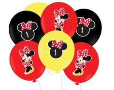 Paquete de fiesta de Minnie Mouse Minnie Mouse por DellaEvents