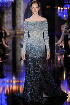 Paris Fashion Week: Elie Saab, Haute Couture, outono/inverno, 2014-2015 - Gosto Disto!