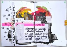 art journal pages made by Marysza ► SODAlicious DT