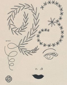 From a Japanese magazine advertising Yamana Fumio, 1948. #design