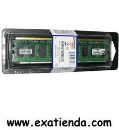 Ya disponible Ddr2 Kingston 2gb/667    (por sólo 44.89 € IVA incluído):   -DDR2 2GB PC 667 KINGSTON -KVR667D2N5/2GB -PC2-5300    Garantía de 24 meses.  http://www.exabyteinformatica.com/tienda/118-ddr2-kingston-2gb-667 #ddr2 #exabyteinformatica