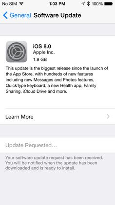 iOS 8 Now Available, But Plan To Be Patient: Prepare; Backup; Wait for 8.0.2? (8.0.1 is now available) Details.