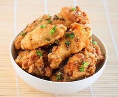 Salt and Pepper Chicken Wings | Kirbie's Cravings | A San Diego food blog#comments#comments#comments
