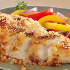 Parmesan Crusted Ranch Mayo Chicken Recipe Kids can't get enough of this crunchy crusted chicken ½ cup mayonnaise tablespoon Hidden Valley® Mayo Chicken, Baked Ranch Chicken, Hasselback Chicken, Chicken Bacon Ranch Casserole, Ranch Chicken Recipes, Chicken Recipes Video, Parmesan Crusted Chicken, Crack Chicken, Corn Casserole