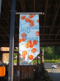 How can you tell that we love tangerines? Our Love, Sunglasses, Gallery, Outdoor Decor, Artist, Color, Beautiful, Home Decor, Homemade Home Decor