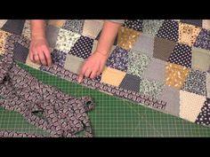Окантовка лоскутного одеяла. Пэчворк для начинающих Doll Patterns Free, Free Pattern, Midnight Quilt Show, Picnic Blanket, Outdoor Blanket, Patchwork Blanket, Embroidery Techniques, Ribbon Embroidery, Clay Crafts