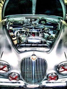 Jaguar MK II Automatic - 1959 by DigitalSunburst, via Flickr