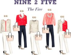 """""""Nine 2 Five - The Five"""" by boardroombelles ❤ liked on Polyvore"""