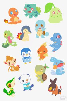Starters Pokemon