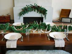 A Rustic + Chic Holiday Brunch - Host a Rustic Handmade Christmas Brunch on HGTV