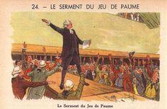 LE SERMENT DU JEU DE PAUME  Belles histoires de France, 1951 (24/36)