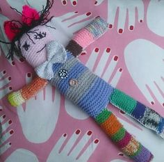 Knittet doll