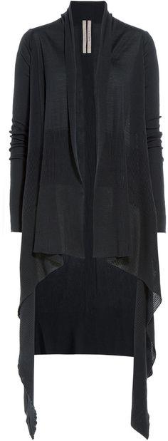 Rick Owens Virgin Wool Cardigan