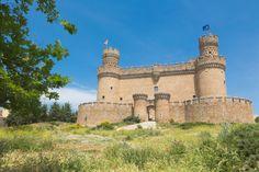 Manzanares el Real, Spain. Castle of the Mendozas.
